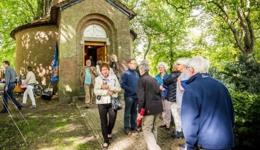 Leeuwarden, Pier Pander Museum - Tempel tijdens Uit Festival